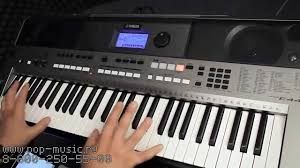 <b>Синтезатор YAMAHA PSR</b> E443 - YouTube
