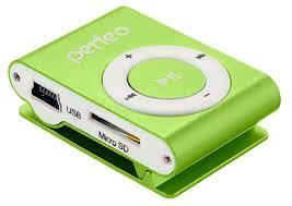 MP3-<b>Плеер Perfeo Titanium</b> Lite, зеленый - купить по цене 139 ...