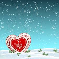 Christmas Motive In <b>Scandinavian Style</b>, White And <b>Red</b> Heart In ...