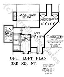 Crested Butte House Plan   House Plans by Garrell Associates  Inc     crested butte house plan   optional loft plan