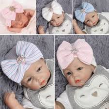New Fashion Newborn Baby Striped Printed Bowknot ... - Vova