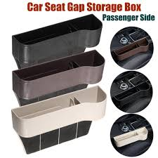1pc Right <b>Car Seat</b> Crevice Gaps <b>Storage Box</b> ABS Plastic <b>Auto</b> ...