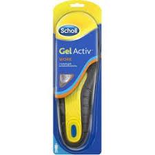 Scholl GelActiv <b>стельки для активной работы</b> мужские купить в ...