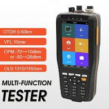 4inch ISP Touch Screen <b>OTDR Multi-function</b> Tester 60KM 1310 ...