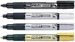 pentel маркер перманентный paint marker цвет золото