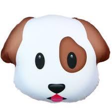 Resultado de imagen de emoticono perro