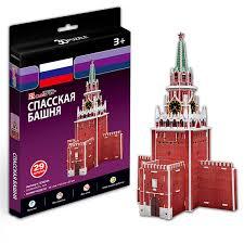 <b>CUBICFUN</b> S3035 Игрушка <b>Спасская башня</b>: купить за 140 руб ...