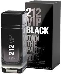 <b>Carolina Herrera 212</b> VIP Black EdP 100ml in duty-free at airport ...