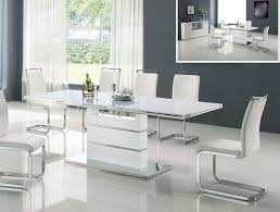 modern dining room table mikeharrington contemporary white dining table sets round white dining table set for  with