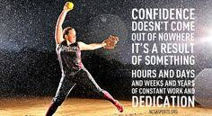 Softball on Pinterest | Confidence Quotes, Softball Quotes and Be ...