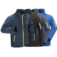 <b>mens</b> waterproof stand collar outdoor <b>sport jacket</b> breathable ...