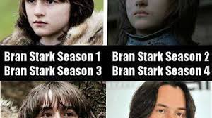 Bran Stark of Winterfell has really matured since season 1 - Imgur via Relatably.com