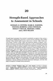 strength based approaches to assessment in schools springer inside