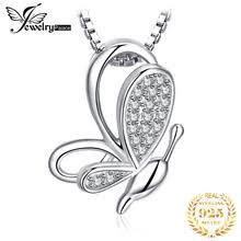 JPalace <b>Серебряный кулон с</b> бабочкой ожерелье 925 пробы ...