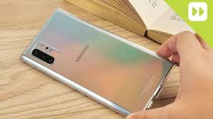 Official <b>Samsung</b> Galaxy <b>Note</b> 10 <b>Clear Case</b> Review - YouTube