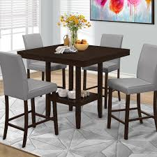 tabacon counter height dining table wine: jofran olsen oak counter height dining table with storage dining tables at hayneedle