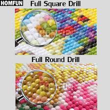 Homely <b>Homfun 5D DIY Diamond</b> Painting Full Square/Round Drill ...