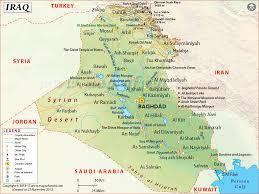Resultado de imagen para mapa de irak