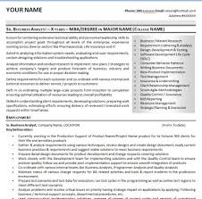 business analyst cvsample it business analyst resume cv