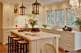 build kitchen island sink: solid oak wood counter tops kitchens island sinks classical varnished wooden cabinet doors small stainless steel sink classic pendant light