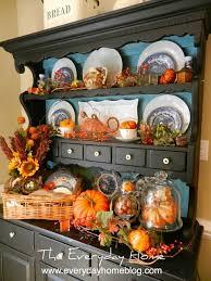 ideas china hutch decor pinterest: the everyday home fall decorating  the everyday home fall decorating