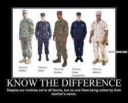 Different types of Military - Navy Memes - clean mandatory fun via Relatably.com