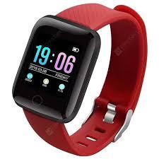 <b>116plus</b> Smart Watch Red Smart <b>Wristband</b> Sale, Price & Reviews ...