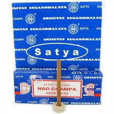 <b>Благовония</b> SATYA <b>безосновные Super</b> Sandal Dhoop Sticks ...