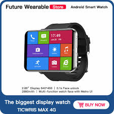 <b>TICWRIS</b> MAX 3GB 32GB <b>Smart Watch</b> IP67 Waterproof 8.0MP ...
