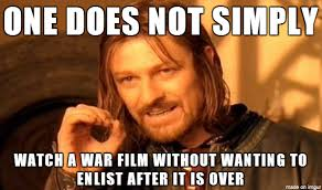 Saving Private Ryan, Full Metal Jacket, The Hurt Locker, and Lone ... via Relatably.com