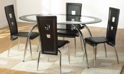 round glass extendable dining table: whats great about a round glass dining table