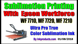 Sublimation CIS For <b>Epson</b> Workforce WF 7710, WF 7720, WF 7210 ...