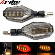 for <b>2PCS</b>/<b>Pair Universal</b> LED Turn Signal Indicators Lights/lamp ...