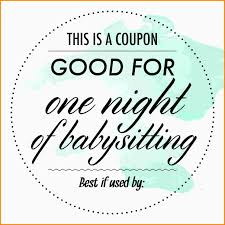 7 babysitting coupon nypd resume tuesday 3rd 2017 coupon template