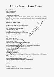 library student worker resume sample library resume sample job description for library assistant