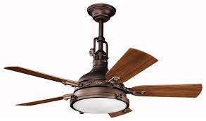 living room ceiling fan lamp dark wrougt iron kichler fans with five swing