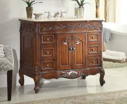 traditional style antique white bathroom: adelina  inch traditional style antique bathroom vanity