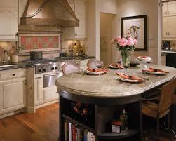 copper range hood idea feat multi purposes kitchen table with built in bookshelf and beautiful cabinet amusing wood kitchen tables top kitchen decor