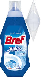 Купить Гель <b>освежитель</b> для унитаза <b>Bref</b> Волна свежести, 360 ...