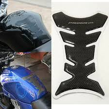 <b>3D</b> Carbon Fiber <b>Motorcycle Oil</b> Gas Fuel Tank Protector Fit <b>Gel</b> Pad ...