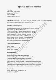 senior equity trader resume resume top trader assistant samples equity trader resume