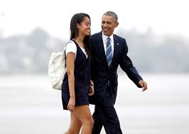 the growing allure of the gap year on point president barack obama and his daughter a walk from marine one toward air force