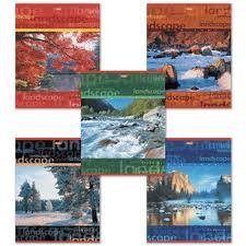 <b>Тетрадь</b>, <b>Hatber</b>/<b>Хатбер</b>, <b>Пейзажи</b>, <b>А5</b>, 96 листов, линейка ...