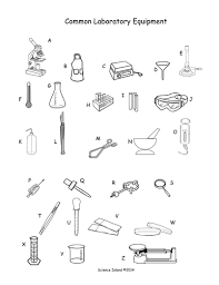 lab equipment activity and puzzles by scienceisland   teaching      lab equipment pictures pdf