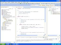 create a java webservice using sts java tutorials use the below source code to write the class