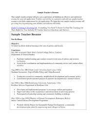 sample resume for teacher job application resume biology teacher resume examples