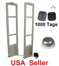 5000pcs lot supermarket security tag with barcode eas 58khz soft label dhl fedex shipping
