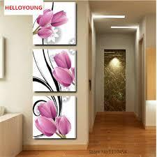 <b>DIY 5D</b> Flower <b>Triptych</b> Rhinestones Pictures <b>Diamond Painting</b> ...