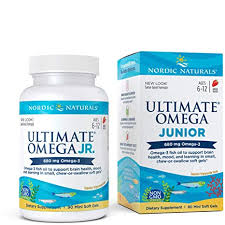 Nordic Naturals, <b>Ultimate Omega Junior</b>, <b>Strawberry</b>, 680 mg, 90 ...