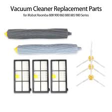 Vacuum Cleaner Replacement Part 3 Filter 3 <b>Side Brush</b> 1 <b>Rolling</b> ...
